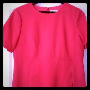 Pink mini dress with pockets 😍🤗
